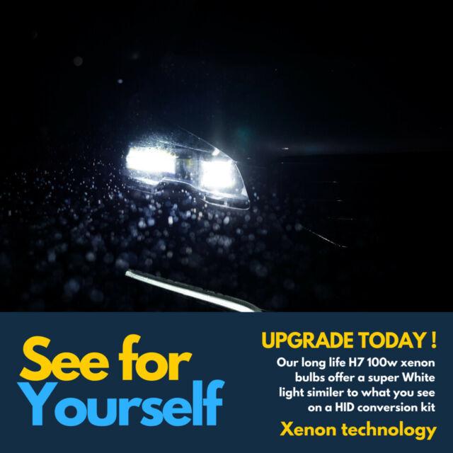 501 H1 100w Super White Xenon 499 Headlight Bulbs Hid 12v Led W5w Side lights