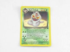 Pokemon TCG Card Team Rocket Dark Arbok Great Condition #2