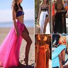 Sexy Women Chiffon Beach Dress Swimwear Scarf Skirt Cover-Up Wrap Kaftan Sarong