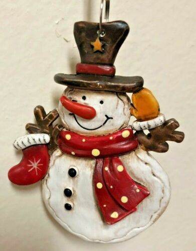 CERAMIC CHRISTMAS ORNAMENTS MANY TO CHOOSE FROM  Santa snowman gingerbread