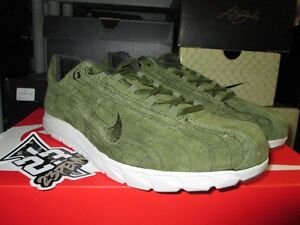 SALE NIKE MAYFLY LEATHER PREMIUM PRM LEGION GREEN RUNNING TRACK RETRO 816548 300