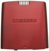 GENUINE Samsung Propel SGH-A767 BATTERY COVER Door RED GSM slider phone back