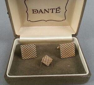 DANTE-Cufflinks-Vintage-Men-039-s
