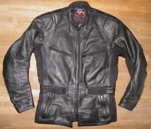 034-TK-2-KEEN-by-GERICKE-034-Motorrad-Lederjacke-Jacke-in-schwarz-XL-ca-Gr-54