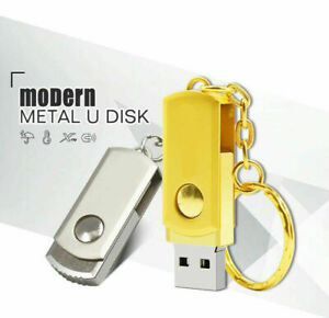 Cle-USB-64-GO-USB-Drive-64-Go-Cle-USB-a-memoire-flash-USB-STEEL-ROTATE-360