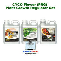 Cyco Flower Part A-b-c 1l Set (pgr) Plant Growth Regulator Increase Flowers