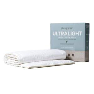 MiniJumbuk-Ultralight-Wool-Cotton-Doona-Quilt-150GSM-Australian-Made