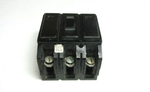 H-88 Cat#  HQC3020 . * Westinghouse 20 Amp 3 Pole Circuit Breaker Type HQC .