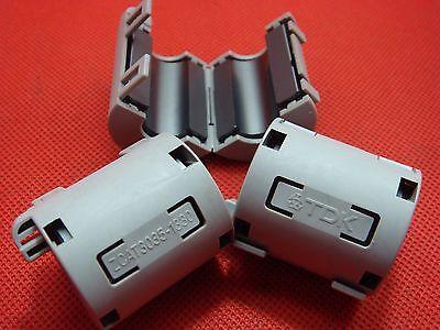 4P TDK 7mm Clip On EMI RFI Filter Snap Around Ferrite