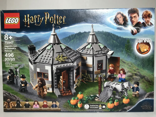 Buckbeaks's Rescue 75947**FACTORY SEALED** New LEGO Harry Potter Hagrid's Hut