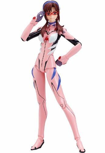 Figma 079 Evangelion 2.0 Makinami Mari Illustrious New Plugsuit ver. Figure