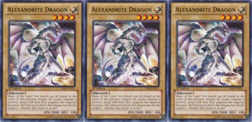 Alexandrite Dragon X 7 1st Mint YSKR-EN011 //SDBE// YS15// yugioh