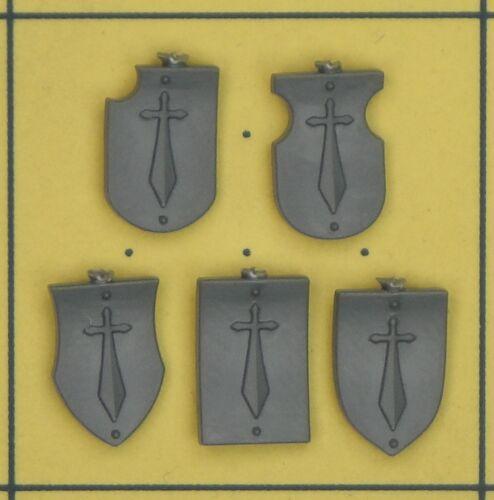 Warhammer 40K Space Marines Grey Knights Terminator Shoulder Pad Accessories B