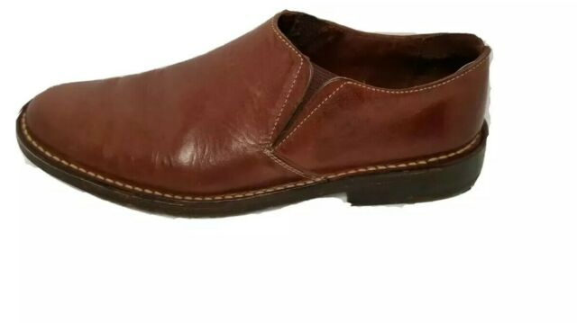 Cole Haan Country Mens Moccassins Slip On Casual Loafers Brown C01270 Size 9 M
