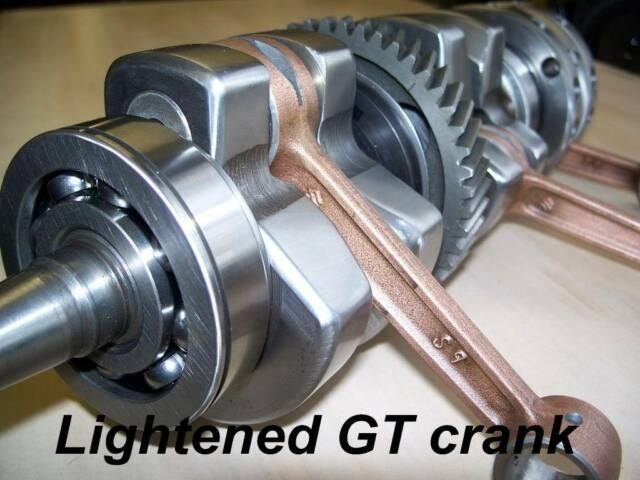 Suzuki GT 750 Crankshaft Recon seals crank GT500 T500 gt550 gt380 gt250 kettle