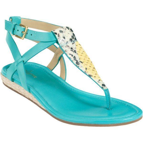 NEW Cole Haan Grove Grove Grove Sandal donna blu Leather scarpe 7.5 NEW IN BOX 936998