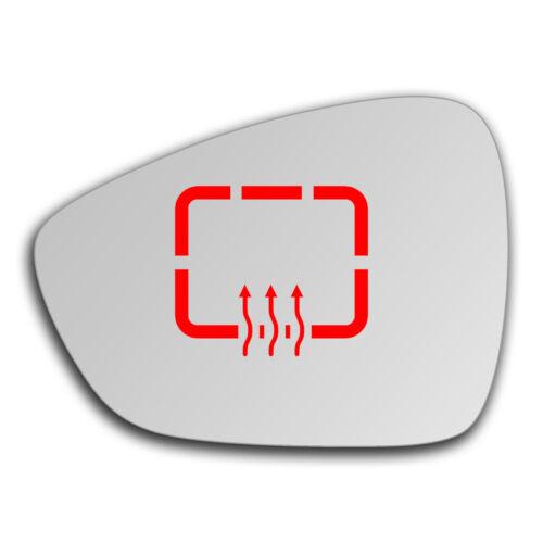 Links Fahrerseite Spiegelglas Beheizbar für Citroen C3 2010-2016