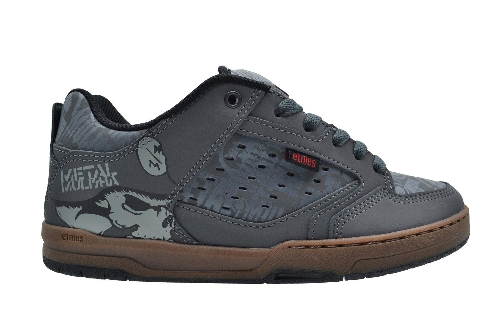 Etnies metal Mulisha cartel gris Gum zapatos zapatillas gris