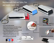 key chain fold -out stylus,pen,and mobile stand  J62 aarav enterprises