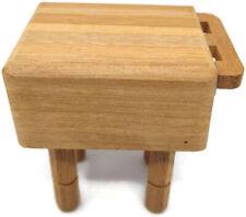 "DOLLHOUSE 1:12 Miniature Serendipity Butcher Block Cutting Board 1 1//4/"" x 2/"""