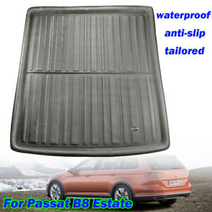 Boot-Liner-Cargo-Tray-Trunk-Mat-For-VW-Passat-B8-Estate-Variant-Alltrack-14-19