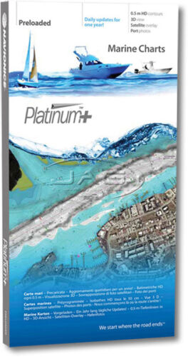 NAVIONICS PLATINUM PLUS CHART 8P136XL SOUTH QUEENSLAND GPS MAP SONAR LAYERS