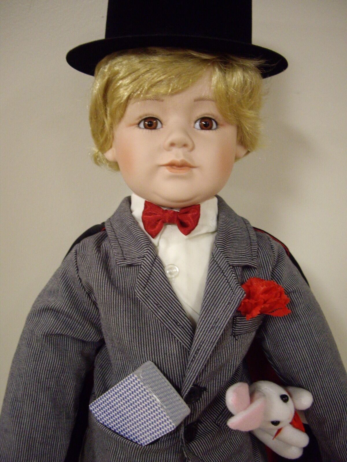 William Tung Collection, 23  Inch Porcelain Doll,  Alex