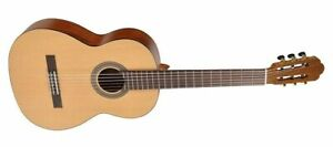 Concert-Guitar-Salvador-4-4-Size-Nylon-Strings-Top-Processing-New-New