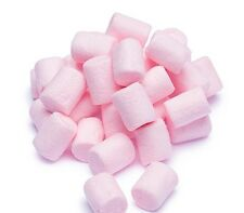 PINK STRAWBERRY MINI MALLOW MARSHMALLOWS 750G RETRO SWEETS PARTY BAG BABY SHOWER
