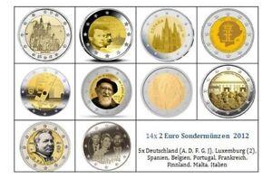 Manueduc 2 Euros Conmemorativos 2012 Todos PaÍses Nuevos Lnduimi8-07232044-422406821