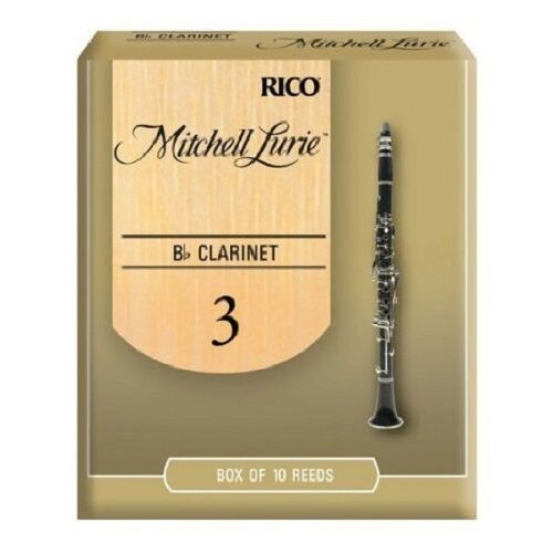 Rico Mitchell Lurie Bb Clarinet Reeds #3.0 NEW 10-Pack