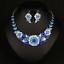 Fashion-Wedding-Caystal-Rhinestone-Choker-Bib-Necklace-Statement-Bridal-Jewelry thumbnail 68