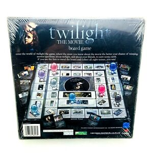 Twilight-THE-MOVIE-Collectors-Edition-Factory-Sealed-2009-Board-Game-NIB