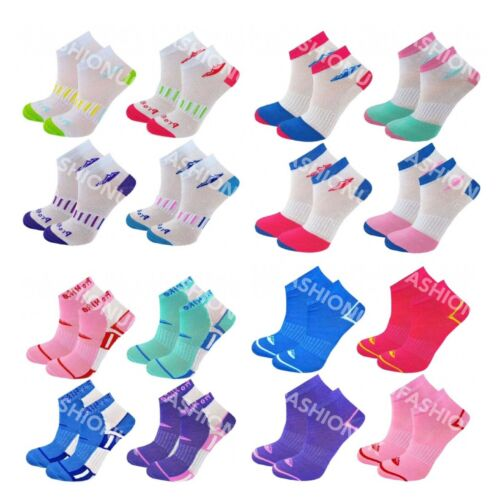 3 Pairs Ladies Trainer Liner Sports Socks Womens Girls Adults UK 4-8