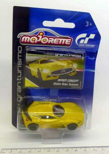 Infiniti concept giallo MAJORETTE 1:64 Vision Gran Turismo