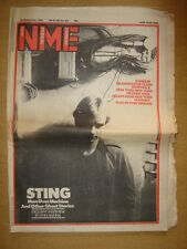 NME 1981 SEP 26 STING POLICE IAN DURY GRANDMASTER FLASH