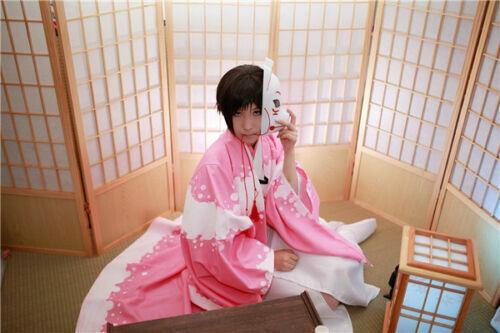 Izaya Orihara Cosplay Costume Pink Kimono Bathrobe /&Free Shipping Details about  /DuRaRaRa!