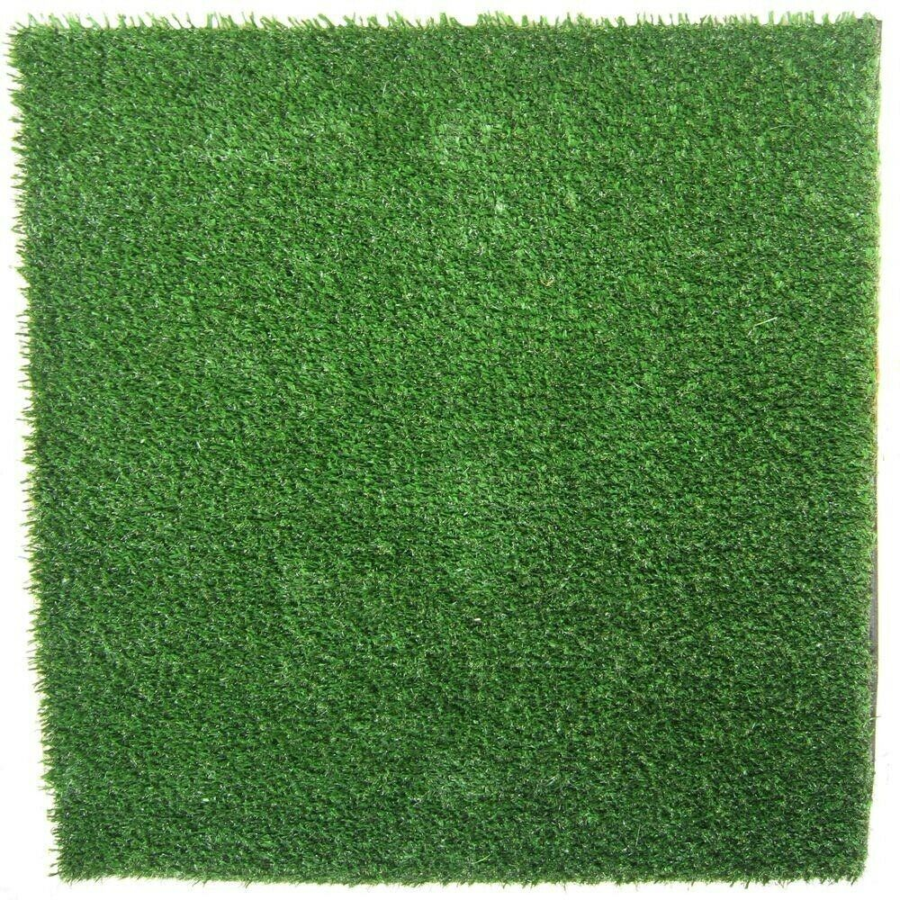 4 ft. x 8 ft. Artificial Turf Mat for Pets 100% Polyethylene w  Odor Resistance