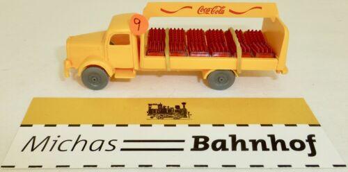 Coca Cola Mercedes 5000 Hängerzug IMU Replica Serie H0 1:87    #9  å*