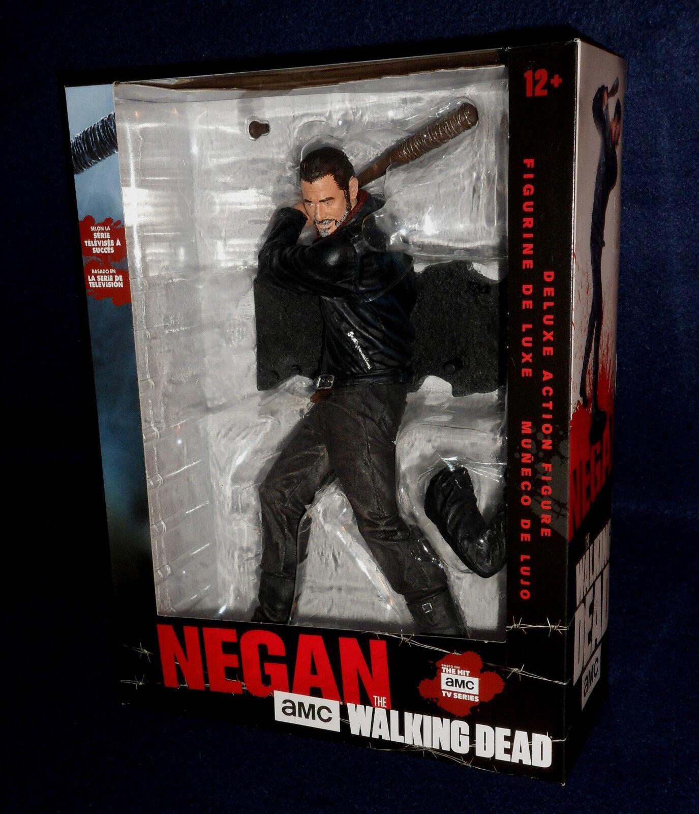 The Walking Dead TV Series NEGAN 10  Deluxe Action Figure McFarlane Lucille AMC