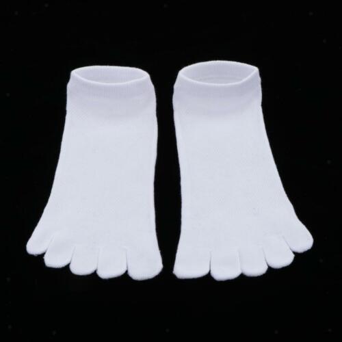 1 Paar Atmungsaktive Söckchen Sport Fünf Finger Toe Schuhe Solide Mesh Socken