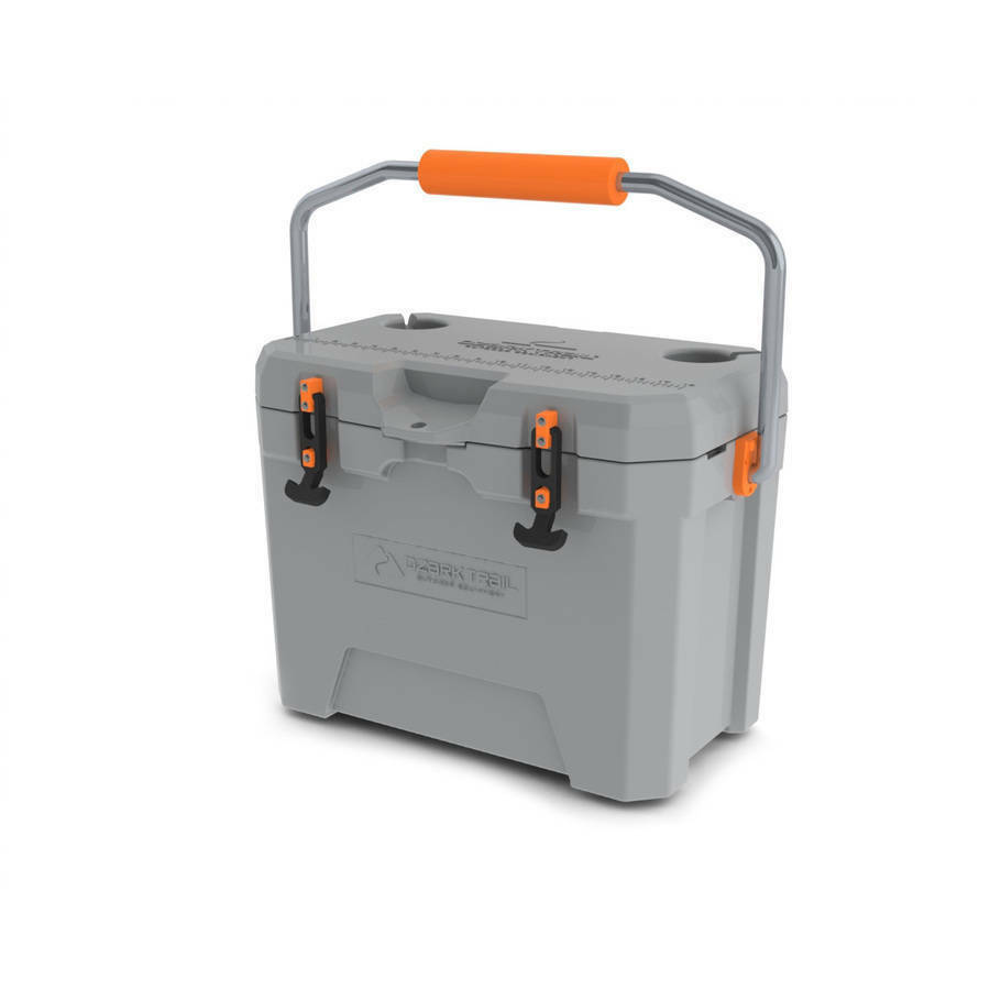 BRAND NEW Ozark Trail 26-Quart High-Performance Roto-Molded Cooler Cooler Roto-Molded Grau c83aa5