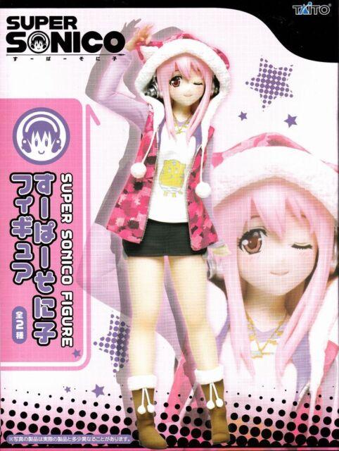 Sonico Figure pink parka Ver. Super Sonico TAITO official