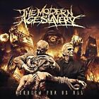 Requiem for Us All by The Modern Age Slavery (CD, 2013, Pavement)