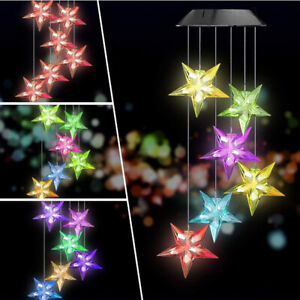 Color-Changing-LED-Solar-Powered-Wind-Chime-Light-Lamp-Yard-Garden-Hanging-Decor