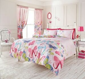 pink butterfly bedroom pink butterfly bedding king size duvet quilt cover 12858