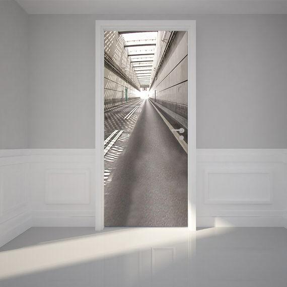 3D Tunnel 70 Tür Wandmalerei Wandaufkleber Aufkleber AJ AJ AJ WALLPAPER DE Kyra | Moderner Modus  | Bequeme Berührung  |  a39d64