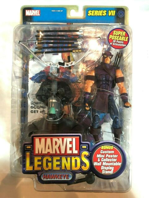 Marvel Legends Series VII Hawkeye Figure ToyBiz 2004