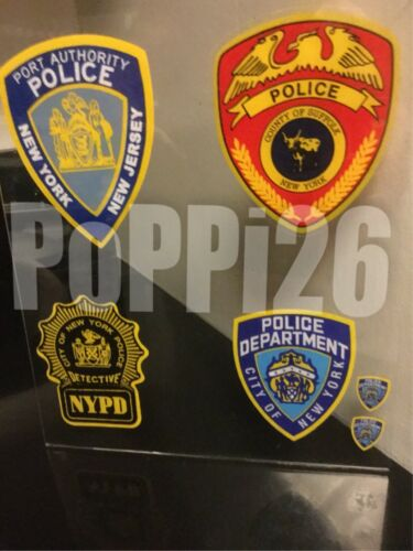 faces out Authentic Decal Sticker *Others NYS NY NYC Corrections INSIDE Window
