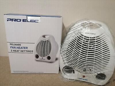 Pro Elec 2KW Fan Heater, 2 Heat